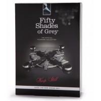 Комплект для бондажа к кровати Shades of Grey Keep Still