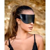 Маска на глаза из плотной натуральной кожи Lady's Arsenal Limited Edition
