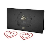 Пэстисы Bijoux Mimi Heart Red красные