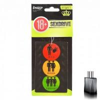 Ароматизатор в авто бумажный Sexdrive Светофор эгоист