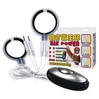 Электростимулятор эрекционное кольцо + кольцо для мошонки