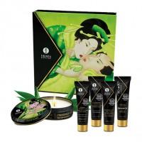 Эротический набор Shunga Geisha's Secret Organica Exotic Green Tea, зеленый чай