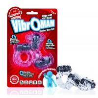 Набор из 3 вибростимуляторов Screaming O VibrOMan