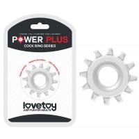 Эрекционное прозрачное кольцо Power Plus Cock Ring