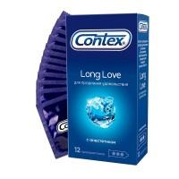 Презервативы Contex №12 Long Love с анестетиком