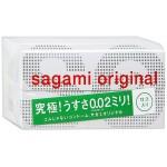 Полиуретановые презервативы Sagami Original 0,02 12 шт.