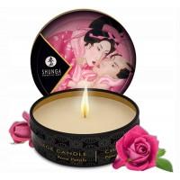 Массажная аромасвеча Shunga Aphrodisia Rose Petals c ароматом розы 30 мл
