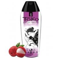 Любрикант на водной основе Shunga Toko Aroma Lustful Litchee с ароматом личи 165 мл