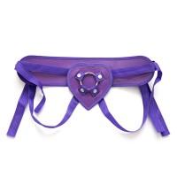 Ремень для страпона фиолетовый