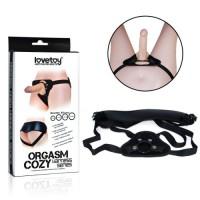 Ремень для страпона Orgasm cozy harness series чёрный