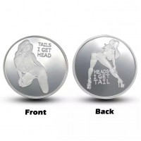Сувенирная монета Lucky Girl