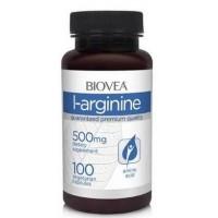 Бад для мужчин BioVea L-Arginine Нейтральный 100 капсул