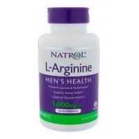 Бад для мужчин Natrol L-Arginine 3000 mg 90 таблеток