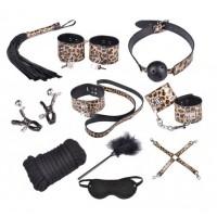Бондажный набор Taboo Accessories Extreme Set №9 золотистый