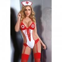 Эротическое боди сексуальной медсестры Cascadia L/XL