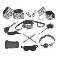 Бондажный набор Taboo Accessories Extreme Set №8 серебристый