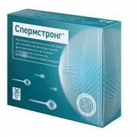 Спермстронг для улучшения качественных показателей спермы 30 капсул