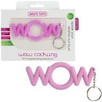 Эрекционное розовое кольцо-брелок WoW